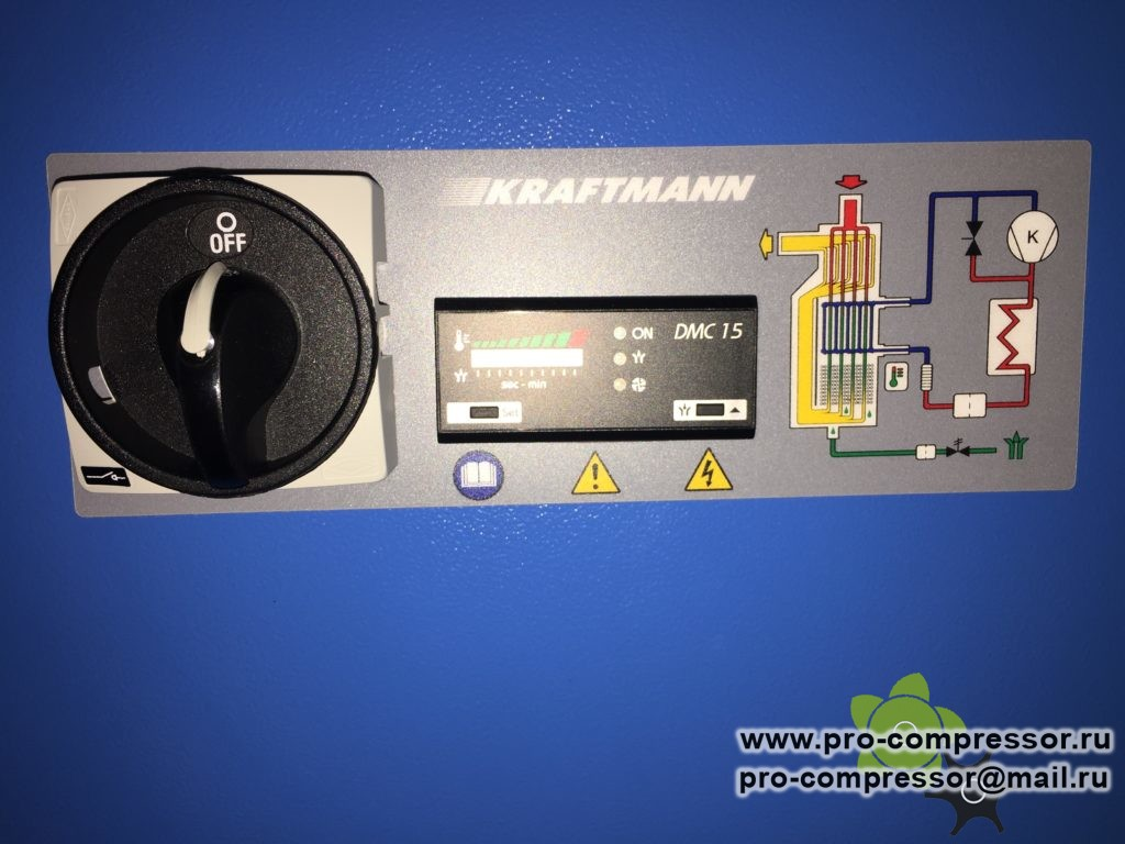 Осушитель рефрижераторный Kraftmann KHD 450
