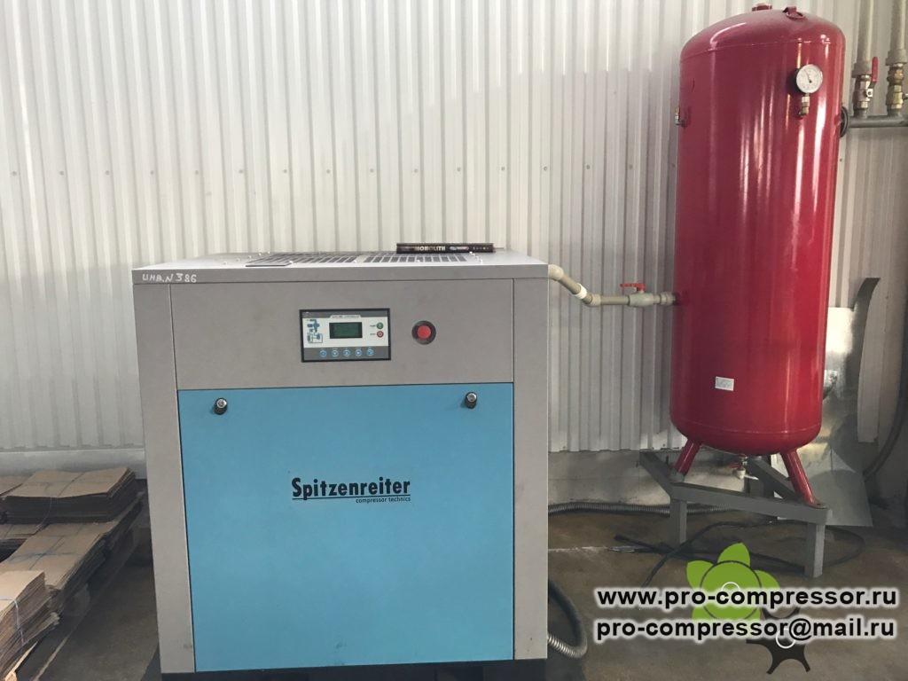 Фото компрессора, ресивера и оборудования, для которого требуется осушитель сжатого воздуха.