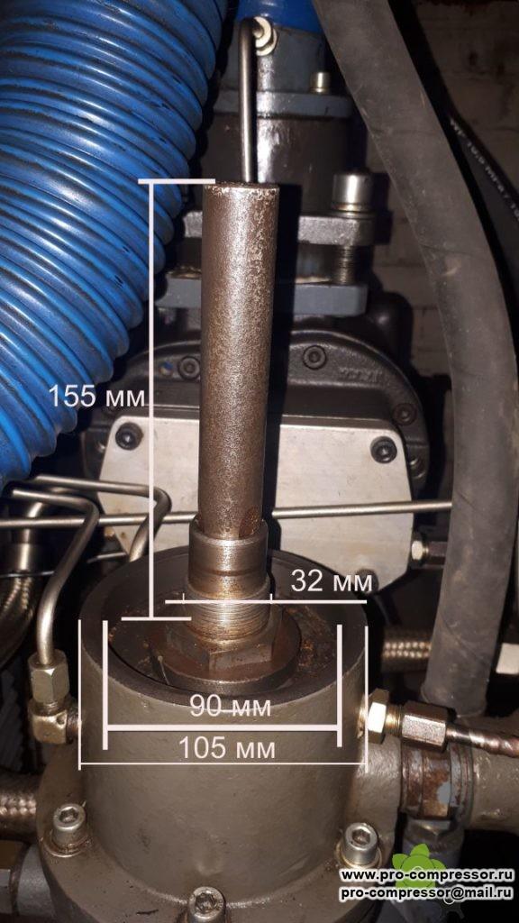 Сепаратор в корпусе к компрессору