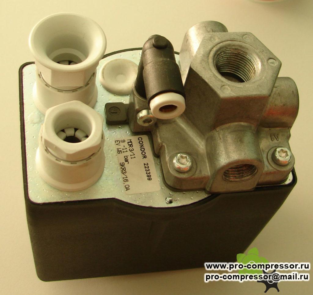 Прессостат CONDOR MDR 3/11 380V 16A 223399