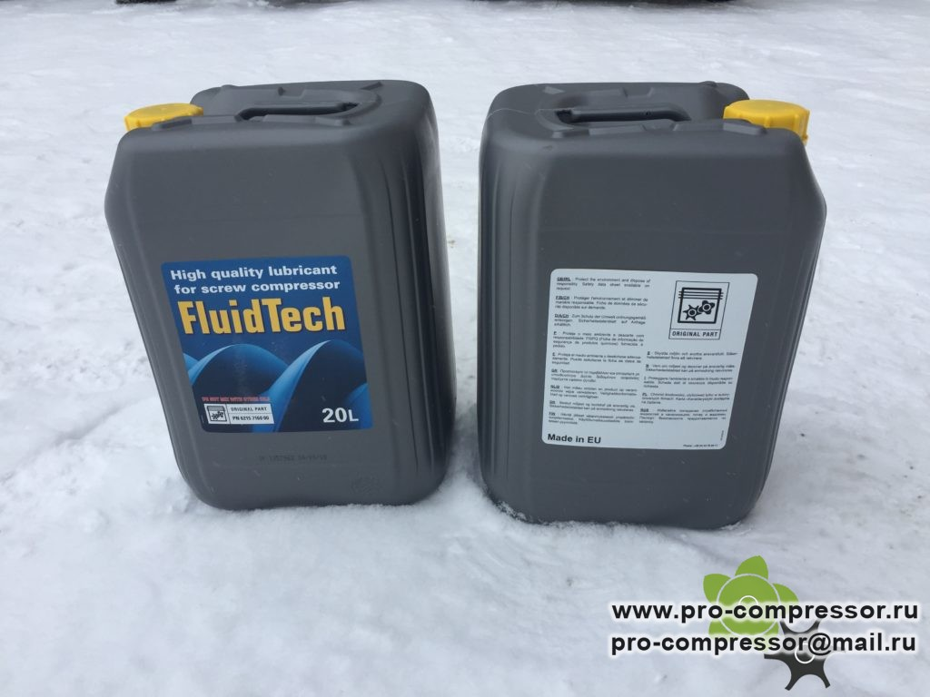 Масло компрессорное FluidTech 6215716000