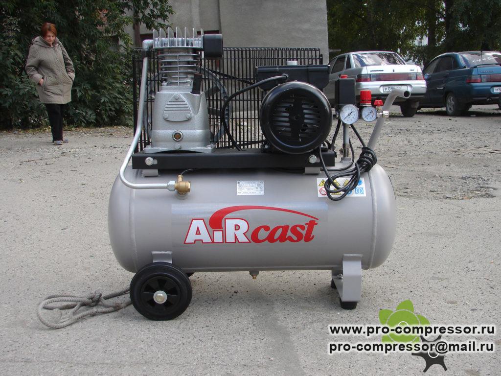 Компрессор для гаража марки Aircast