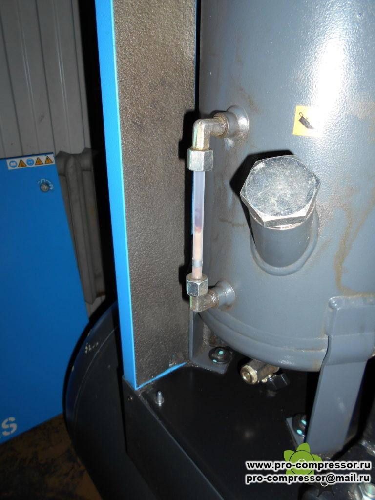 Вспененное масло в компрессоре во время работы