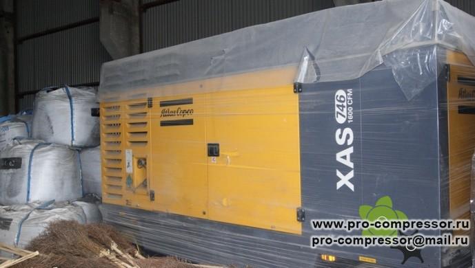 Компрессор дизельный винтовой Atlas Copco XAS 746 CD