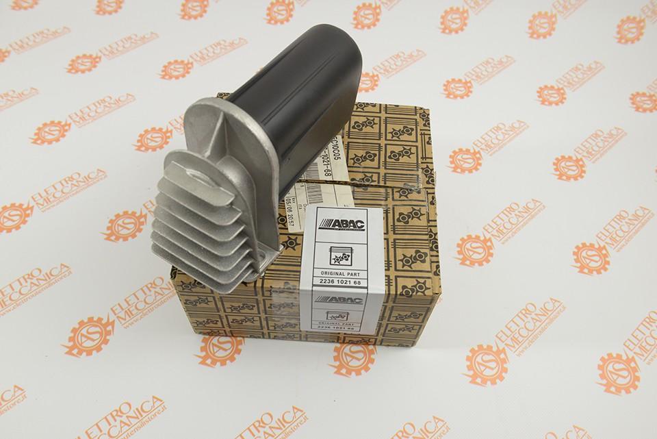 2236102168 (5080050) Фильтр воздушный в сборе Abac B5900 (овальный с суппортом)
