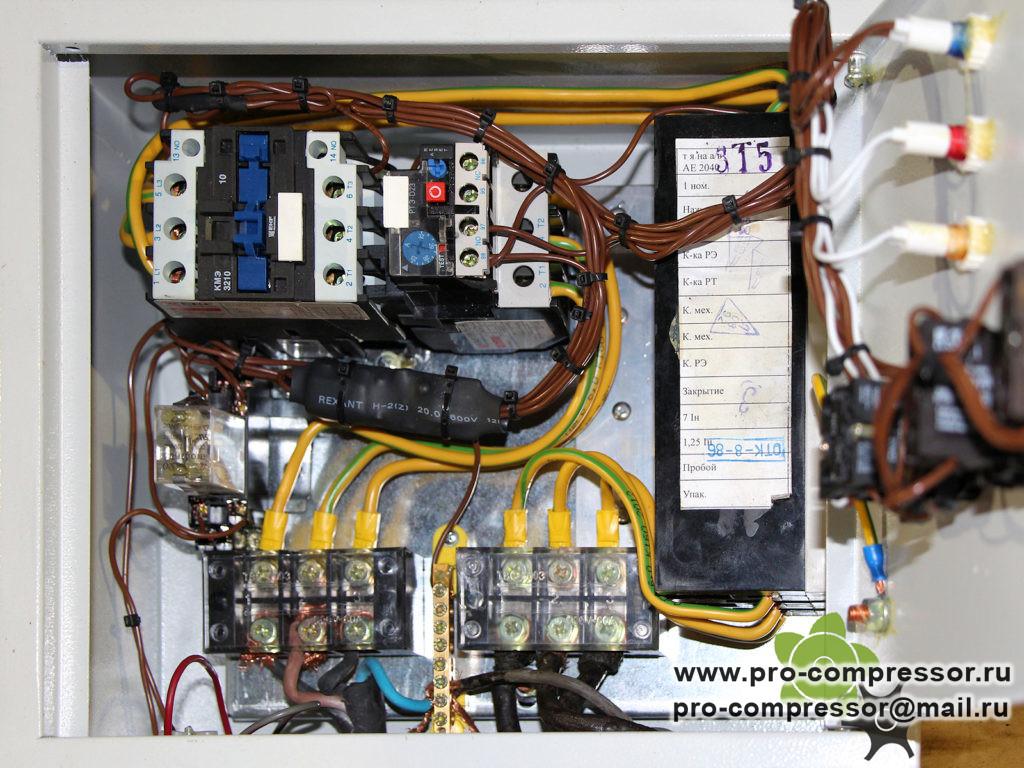 Блок управления поршневым компрессором
