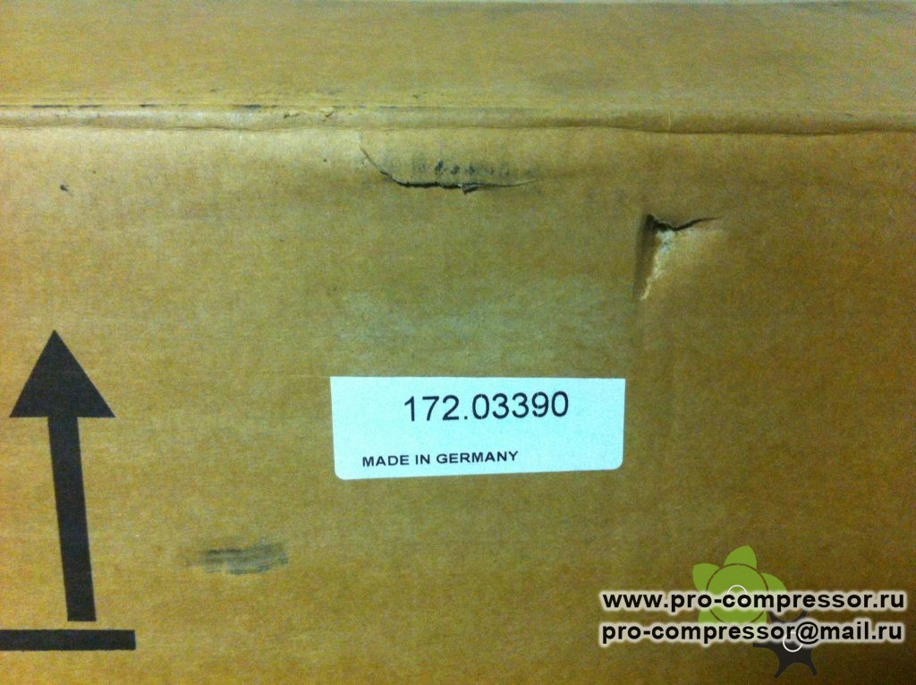 17203390, 172.03390 сепаратор винтового компрессора Kraftmann