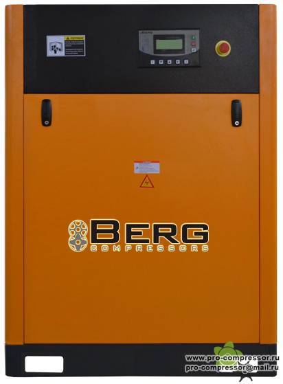 Винтовые компрессоры Berg с ременным приводом