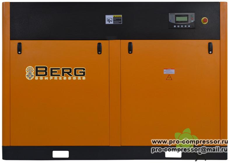 Винтовые компрессоры Berg с прямым приводом