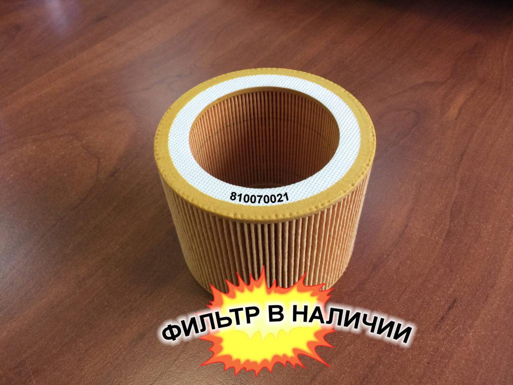 Воздушный фильтр 810070021 Union-tech
