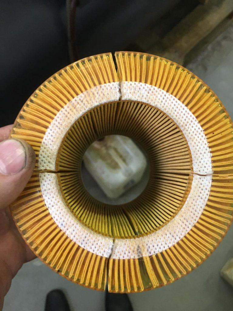 Некачественный аналог воздушного фильтра 88171913 Ingersoll Rand