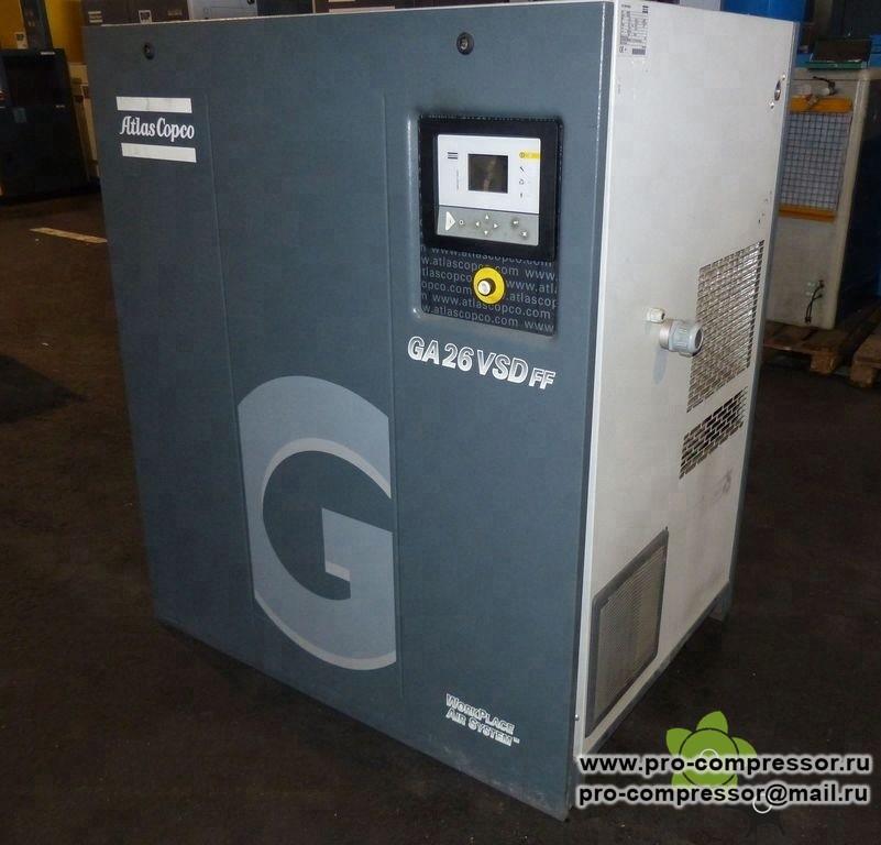 Фильтры для компрессора Atlas Copco GA26FF