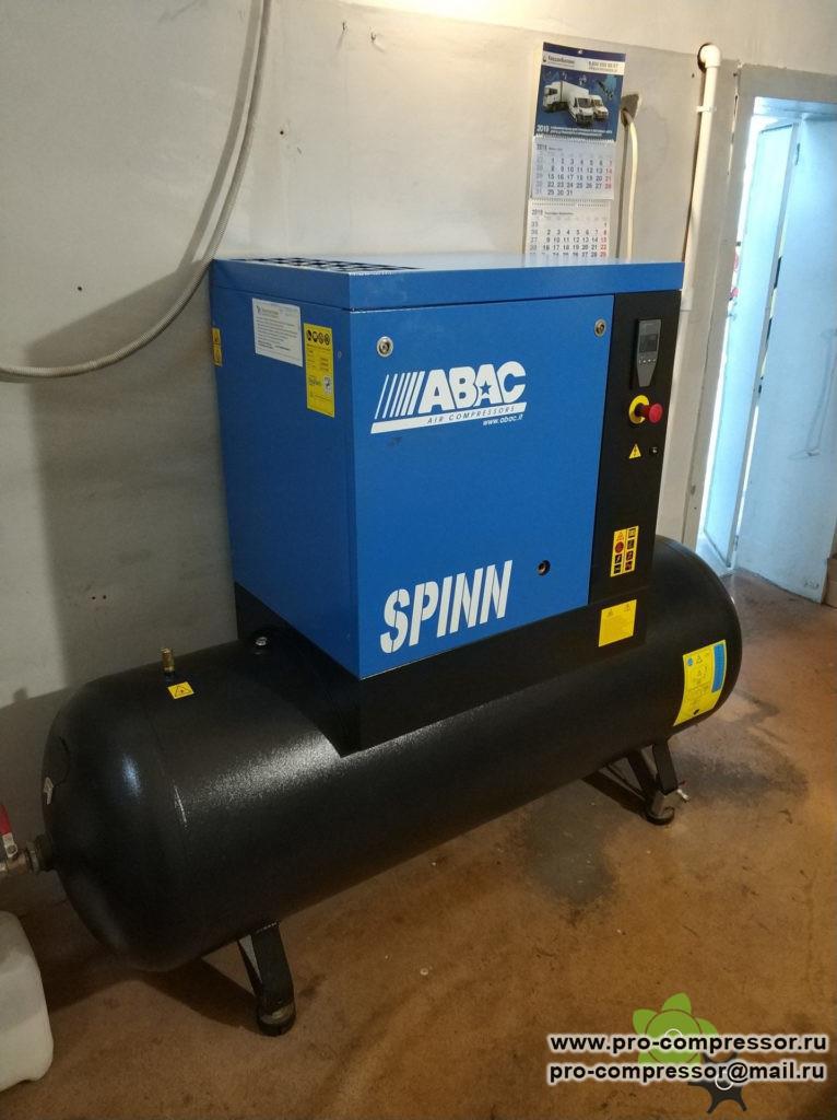 Сколько масла в компрессоре ABAC SPINN 11
