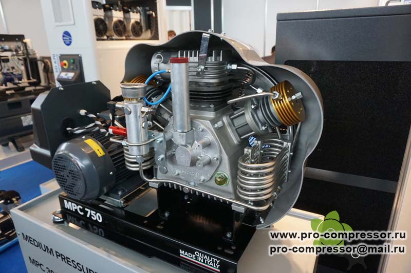 Поршневой компрессор 70 бар La Padana MPC 1500-850