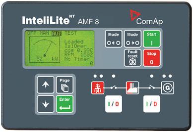 Контроллер InteliLite NT AMF 8