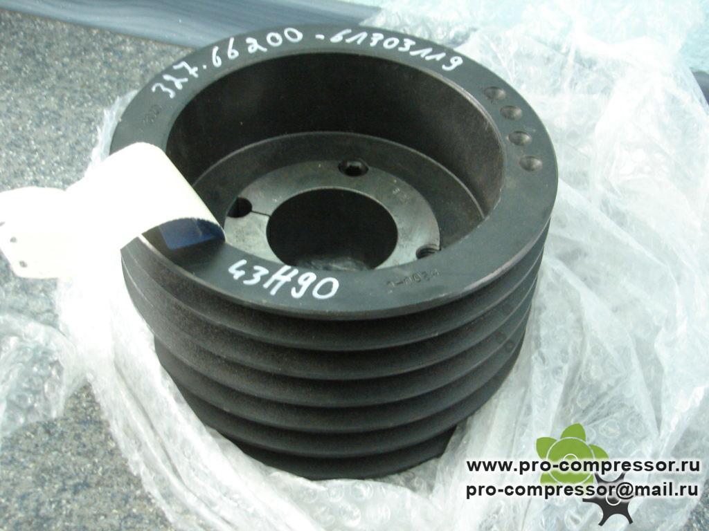 Шкив электродвигателя Dw200,0 6SPB 327.66200_ALM для SCK 121-8