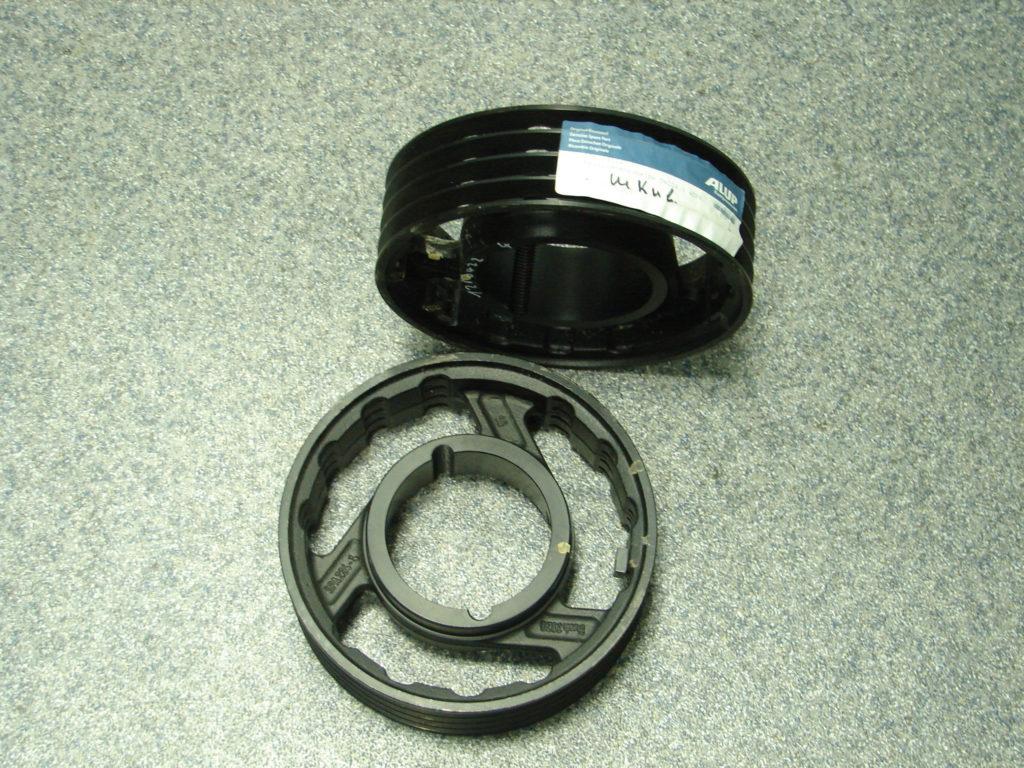 Шкив электродвигателя Dw224.0 4SPA, аналог 126.04224_ALU