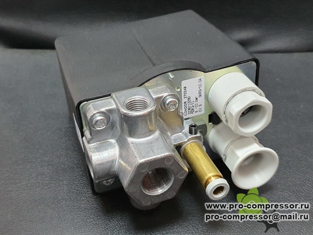 Реле давления CONDOR MDR 3/11 270249 для поршневого компрессора