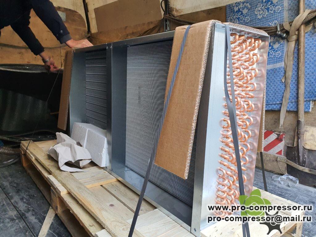 Радиатор компрессора Kraftmann Polaris 30 127.00261_ALM
