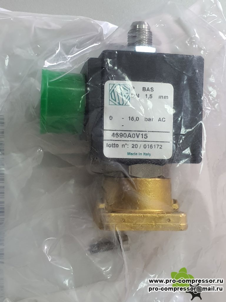 2202729801 соленоид впускного клапана ~24V для GE 22